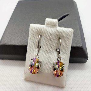 Jewelry - Lucky Stone Earrings Sterling Silver